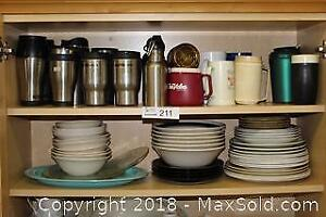 """Thermo Coffee Cups, Water Bottles & Dishes Pick up in Time-slot """"B"""""""