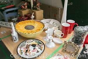 Decorative Wall Plate, Candle Holders And More A
