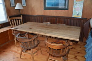 Harvest Table and 5 chairs Kawartha Lakes Peterborough Area image 2