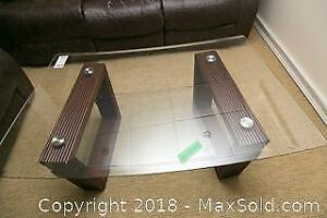 Coffee Table With End Table B