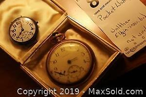 Pocket Watches. A