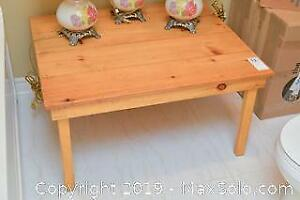 Pine Coffee Table. B