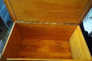 Cedar wooden chest