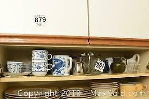Teacups, Creamers, Gravy Boat A