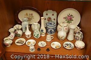 Rosenthal Vase, Delft And More - B