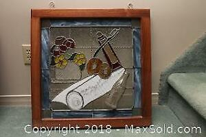 Stained Glass Hanging B