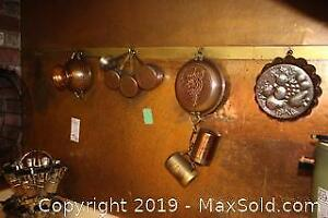 Copper and Spice Rack A