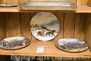 3 Limited Edition Collectors Plates by Canadian Artists - A