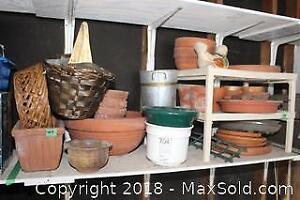 Planters and Baskets - A