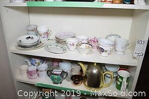 Mugs, Cups And Saucers A