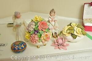 Florals And Figurines B