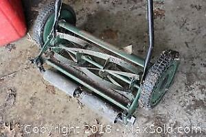 Lee Valley Push Mower. A