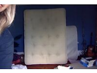 FREE KING SIZE MATTRESS, 5 feet wide and 6 feet 6 inches long (150 x 198 cm)