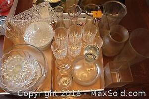 Glassware. A