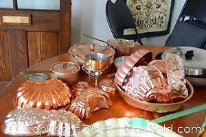 Copper Bakeware And Kitchenware A