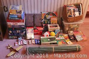 Puzzles, Games And Toys A