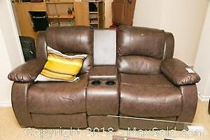 Leather Sectional C
