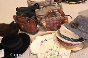 Purses And Scarves. A