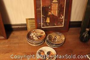 Normal Rockwell Print And Plates. C