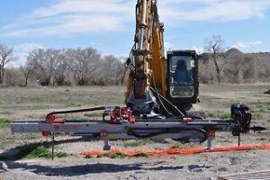 HEM350 Rotary Excavator Drill Attachment