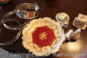 China And Silver Plate. A