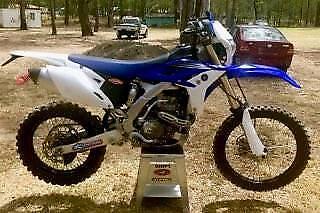 Yamaha WR450F 2012 Like new only done 900Ks. 24 Engine Hours