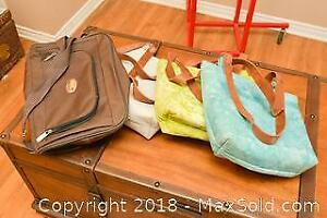 Hemp Hand Bags. A
