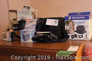 Cameras and Accessories. A