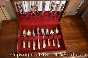 Silver Plated Utensils. A