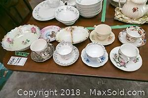 Teacups And Saucers And More- A