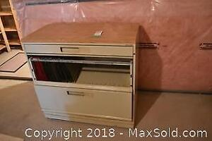 Lateral Filing Cabinet. B