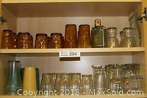 """Large Bar Glass Collection + Kitchen Glasses Sets Pick up in Time-slot """"B"""""""