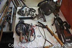 Wrenches, Electrical Testers, Carriage Steps B