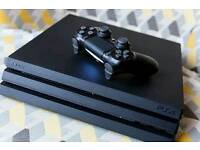 Ps4 pro with 7 games