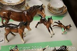 Horse Figurines A