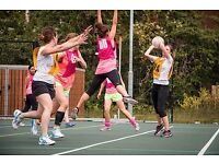 Players wanted for social netball teams