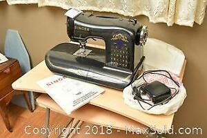 Singer Sewing Machine. A