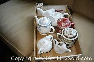Tea Pot Set A