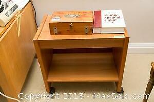 Wooden Box And Table- B