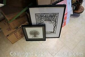 2 IKEA Shadow Boxes A