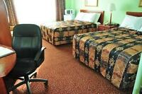 Full furnished rooms at Red Carpet Inn & Suites,Motel in Lively
