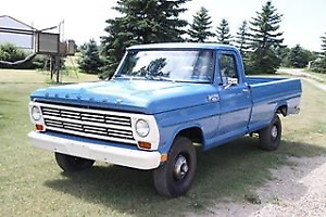 WANTED 1967-1968 Mercury M100 or M250 4x4 Truck also FORD