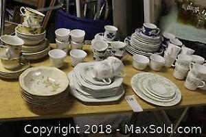 Dishes And Mugs. C