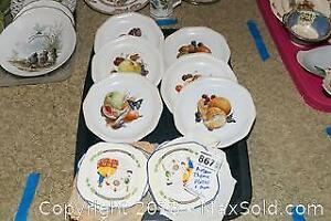 Autumn Theme Collector Plates And More B