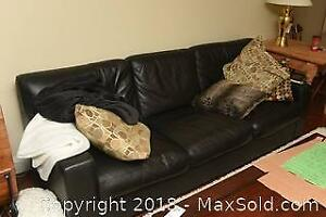 Leather Couch C