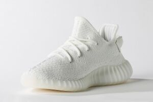 yeezy cream white  never wear  size 8,5  copped from adidas ca