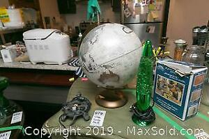 Lava Lamp Globe And Lamp Base A