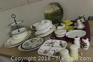 China Serving Dishes. B