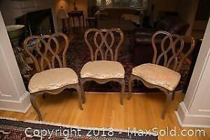 Vintage Dining Room Chairs - B