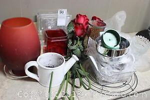 Vases And Roses. B